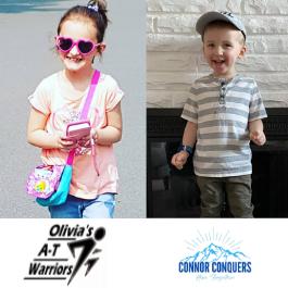 Virtual 5K Walk Towards A Cure With Olivia And Connor @ Virtual | Lower Sackville | Nova Scotia | Canada