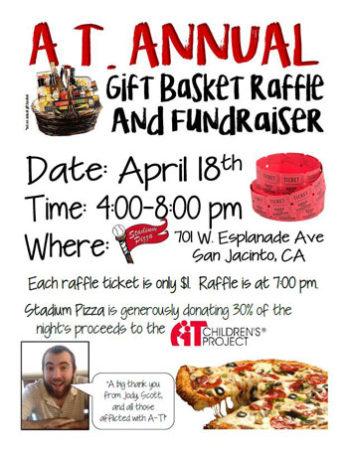 A-T Gift Basket Raffle @ Stadium Pizza | San Jacinto | California | United States