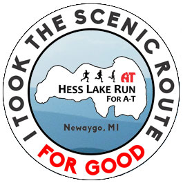 Hess Lake Run for A-T @ Trinity Fellowship Church | Newaygo | Michigan | United States